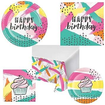 Chic Cupcake Adultos y Niños Cumpleaños Party Pack Kit de ...