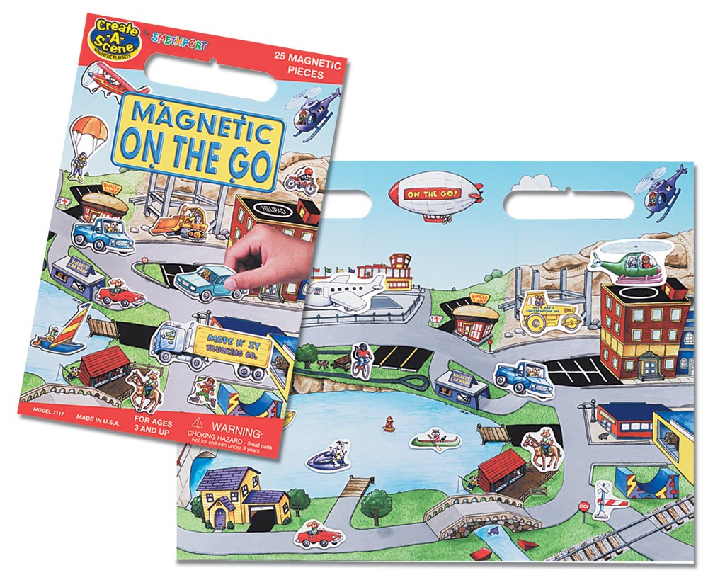 Create-A-Scene Magnetic Playset On the Go Patch Products 7117