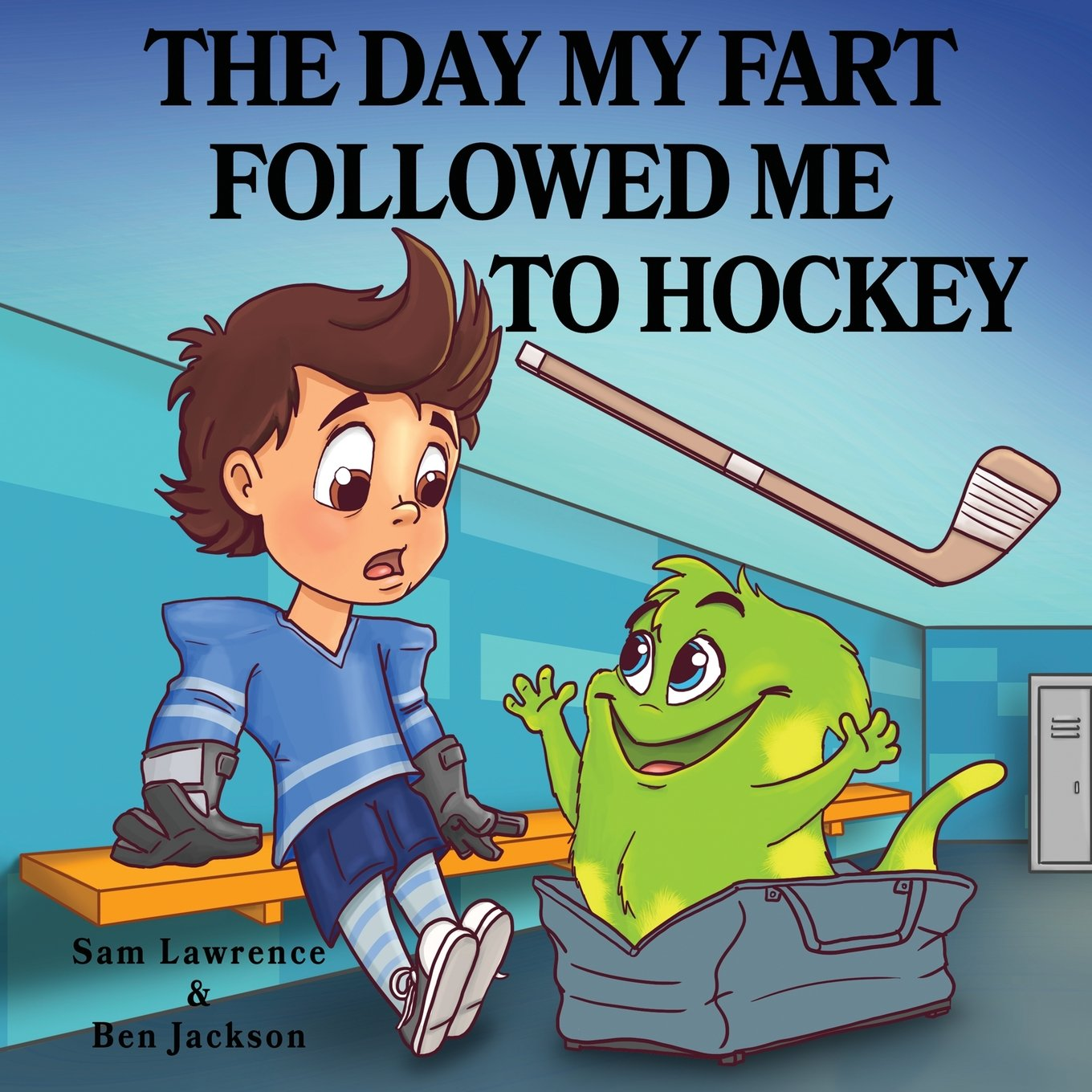 Read Online The Day My Fart Followed Me To Hockey (My Little Fart) PDF