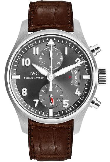 Reloj de los hombres del cronógrafo Iwc Spitfire Iw387802