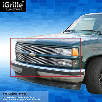 amazon com off roader stainless steel egrille billet grille grill 93 Chevy Suburban Fuse Box image unavailable