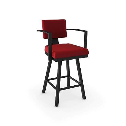 Peachy Amazon Com Amisco Akers Counter Swivel Metal Stool 26 Inch Creativecarmelina Interior Chair Design Creativecarmelinacom