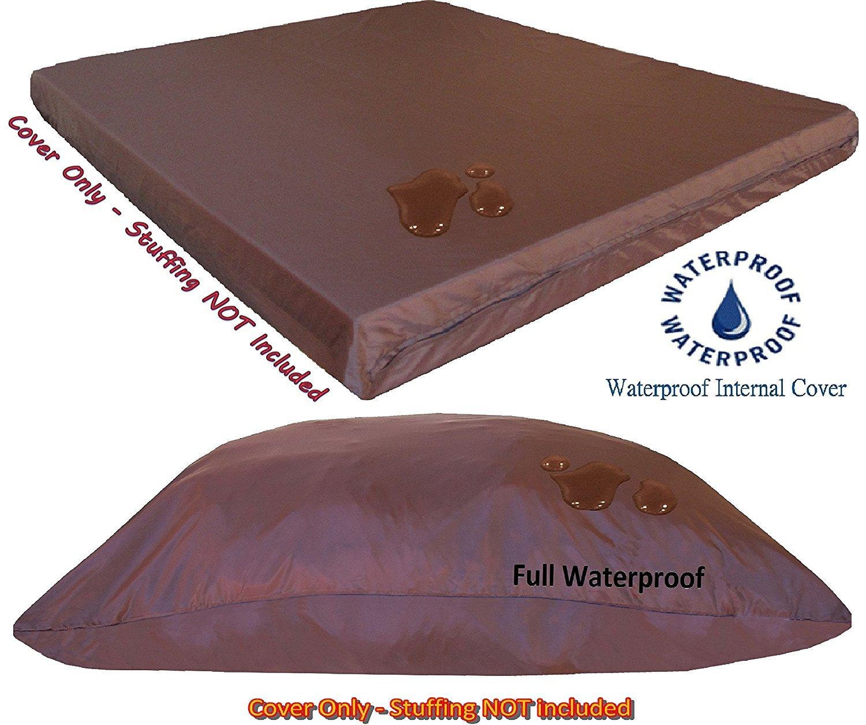 Flat Internal duvet Waterproof resistant pet dog bed internal cover for DIY Pet Bed (36X29 Internal Cover 2Pack)