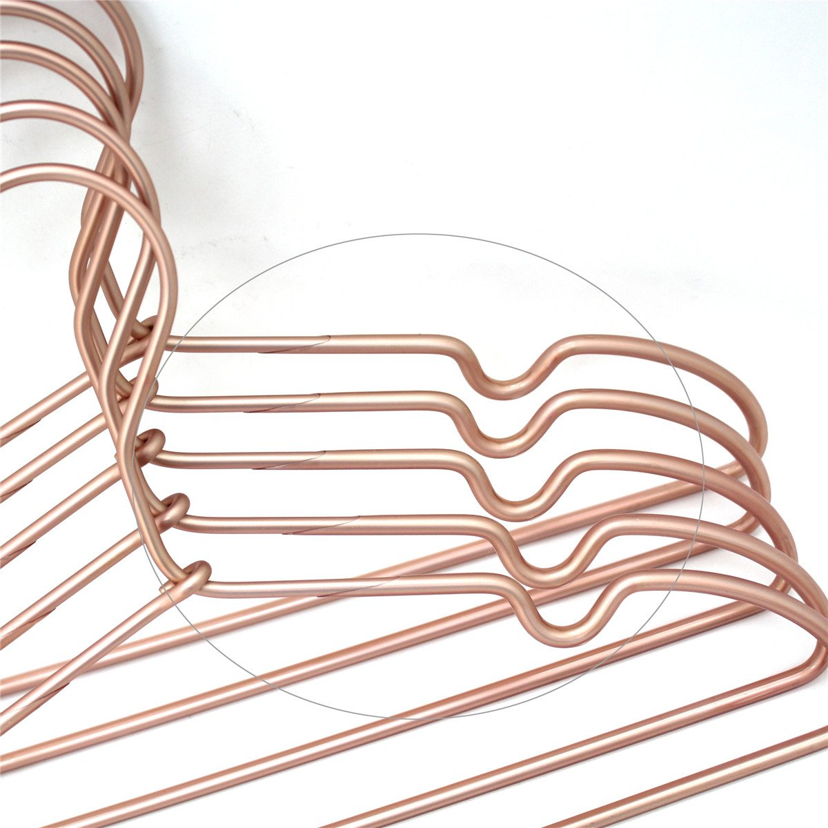 Amazon.com: 30Pack Koobay Non Slip 32CM Gold Copper Light Wire ...