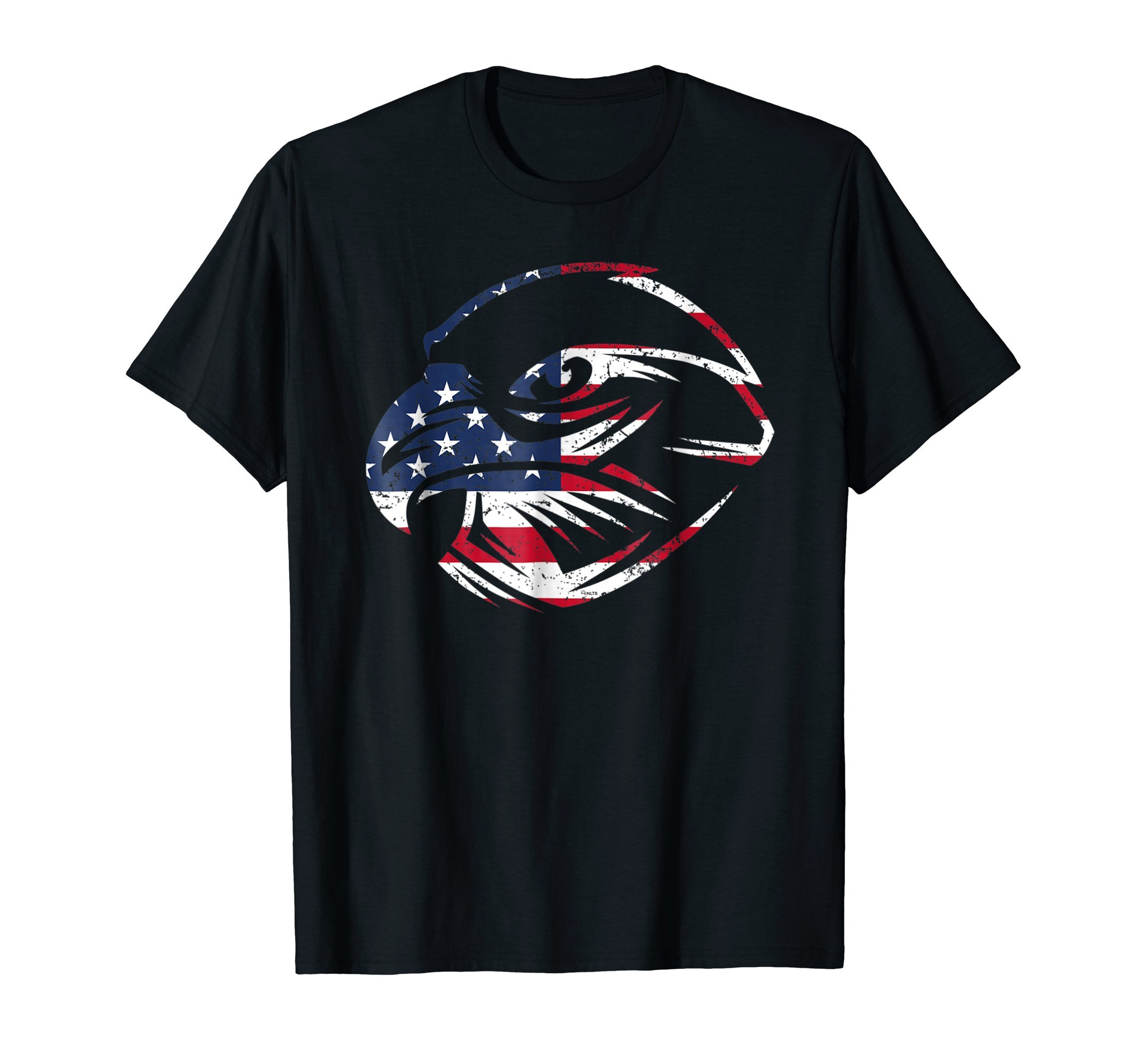 4th-of-July-Eagle-Face-Flag-T-Shirt-Tee-Shirt-Gift