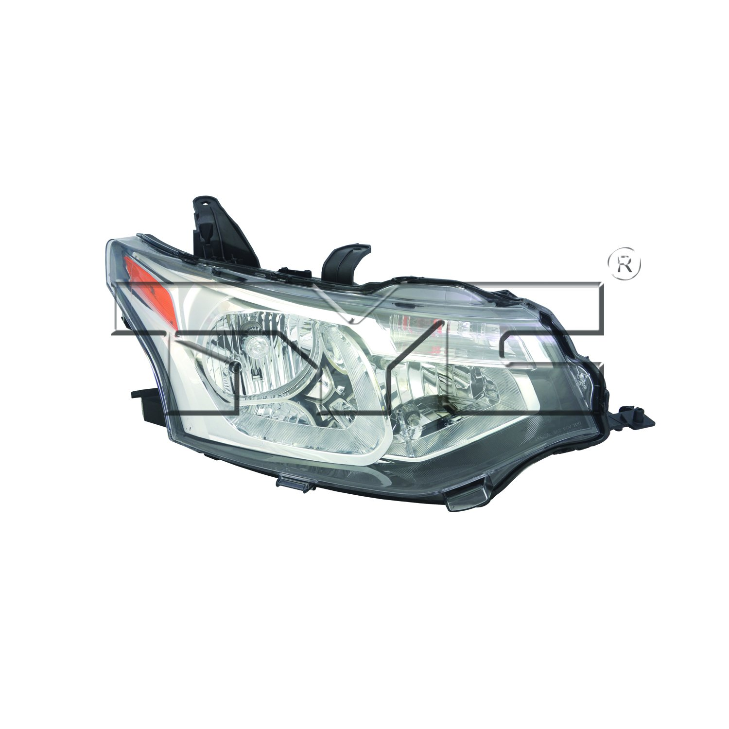 TYC 20-9488-00-1 Mitsubishi Outlander Left Replacement Head Lamp