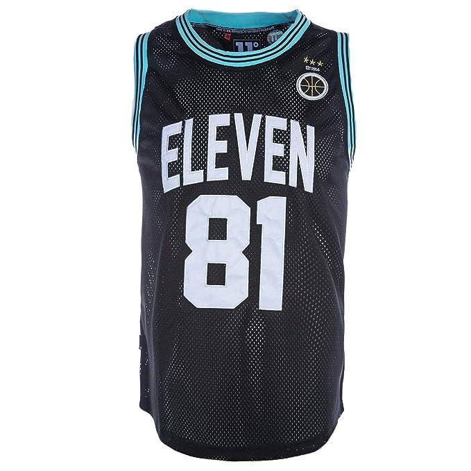 Black 11 Degrees Basketball Vest