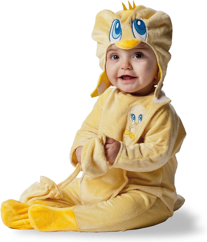 Looney Tunes D873-002 - Disfraz de Piolín para bebé, talla 18 ...