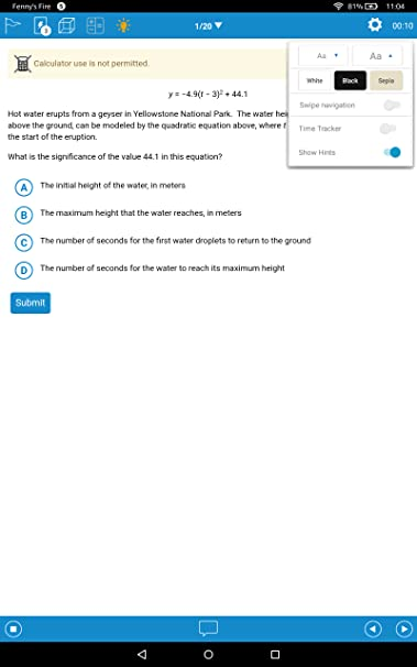 Amazon com: UWorld SAT & ACT: Appstore for Android