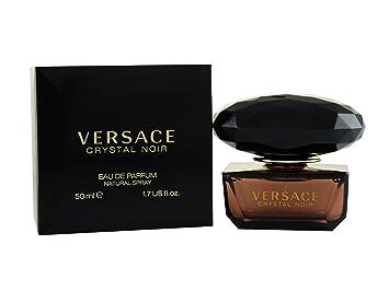 Eau Crystal Versace Parfum Noir De 50ml Vaporisateur nvN8mw0