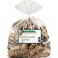 Kork-Deko Pedazos de Corteza de Corcho de 500g