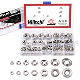 Hilitchi 295-Pcs [#4 - #16] Finishing Cup Countersunk Washer Assortment Set - 304 Stainless Steel