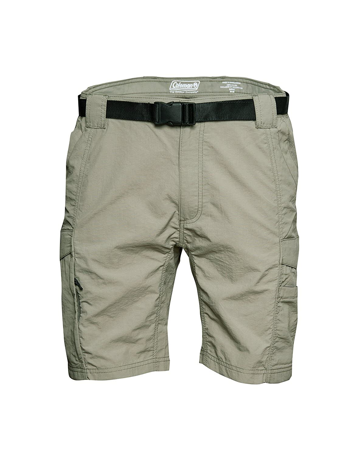 23129c51db Amazon.com: Coleman Men's Hiking Cargo Shorts (X-Large, Eucalyptus):  Clothing