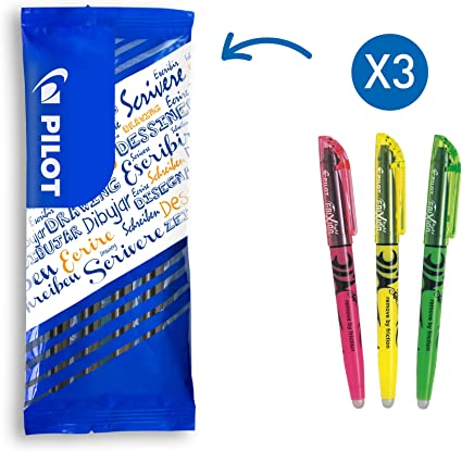 Pilot Frixion light soft Textmarker blau