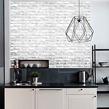 Wall Sticker Clearance 3d Brick Stone Rustic Effect Self Adhesive