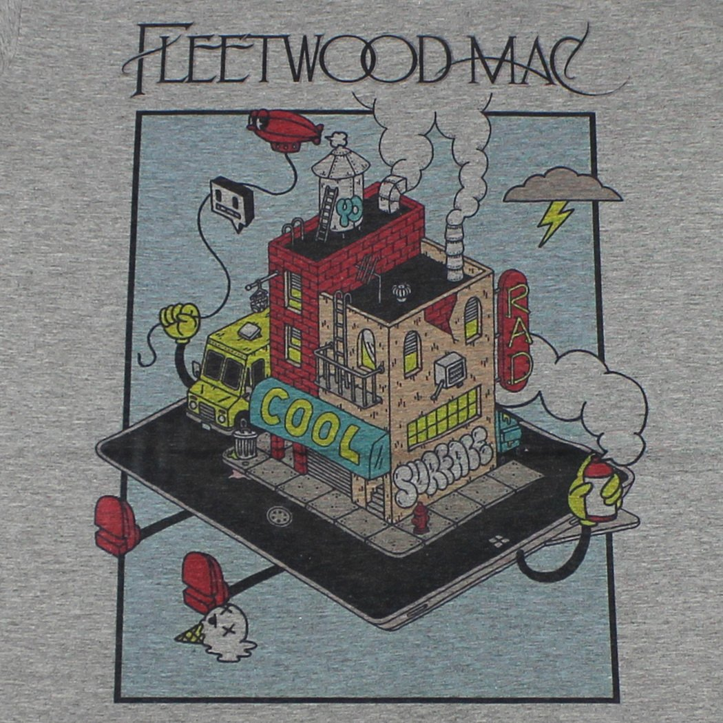 Fleetwood Mac T-Shirt Gray # GV519.3 size M