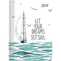 "Agenda settimanale Ladytimer 2019 ""Sail"" 10,7x15,2 cm"
