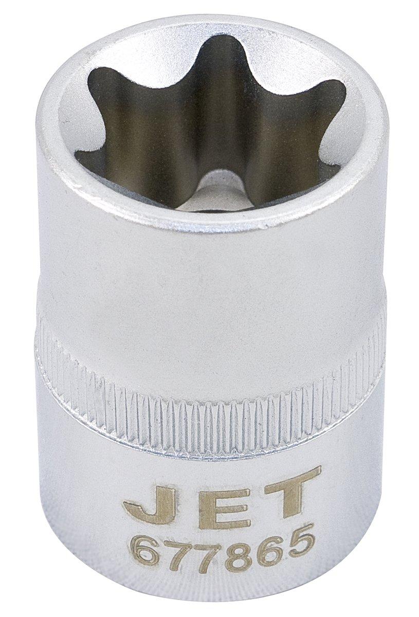 JET 677859 -  1/2-Inch Drive ,  E18,  External Torx Bit ,  Regular , E Chrome Socket JET Equipment & Tools