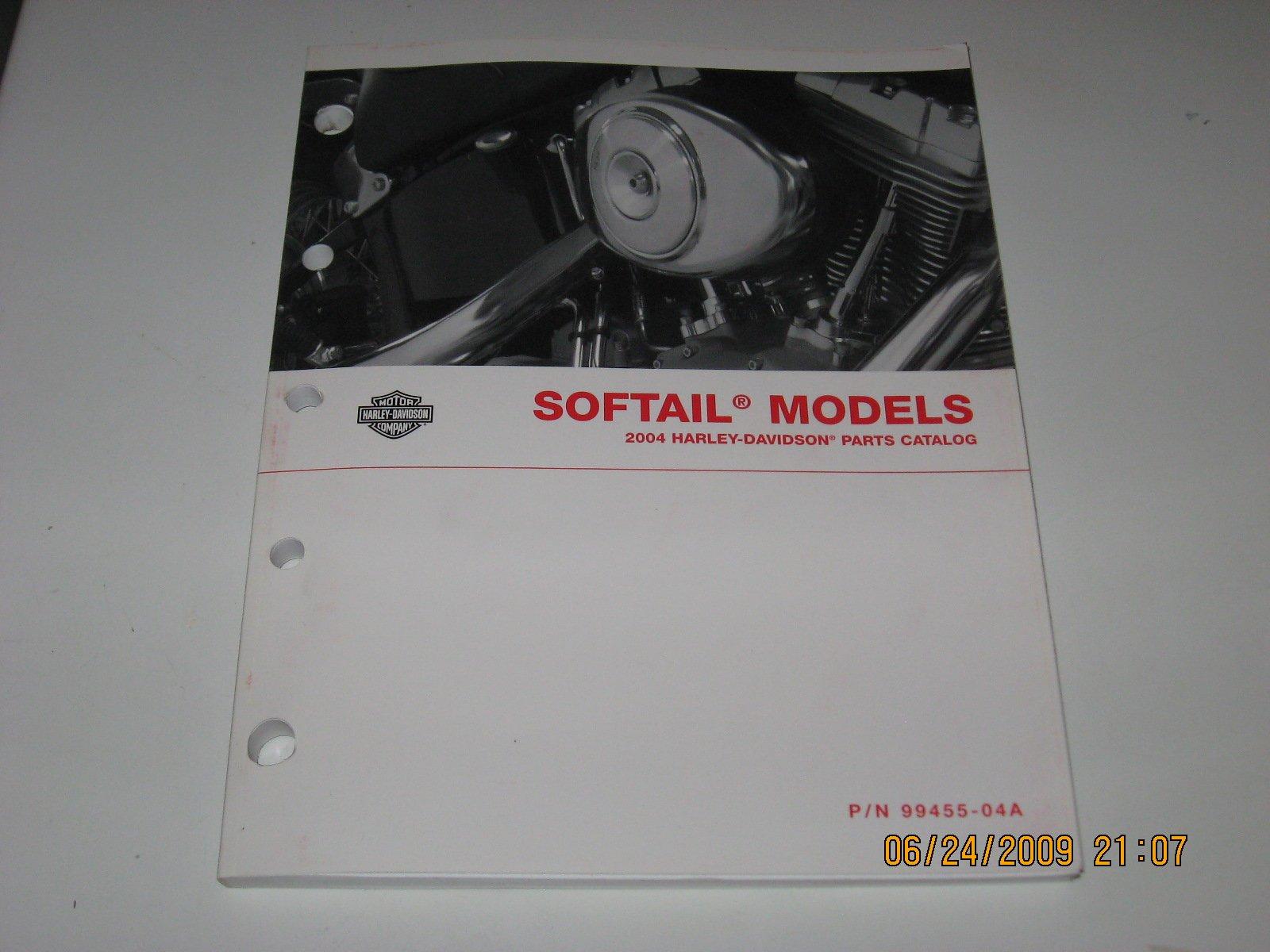 2004 Harley Davidson Softail Models Parts Catalog: Harley Davidson Motor  Company: Amazon.com: Books