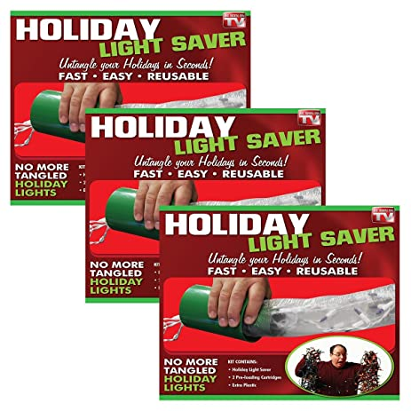 Emson 9467 Holiday Light Saver A Complete System to Keep Your Holiday Lights  Protected and Tangle - Amazon.com : Emson 9467 Holiday Light Saver A Complete System To