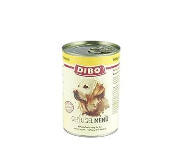 dibo Menú Aves, 6 x 400 g de lata, perros Forro, nassfutt erohne