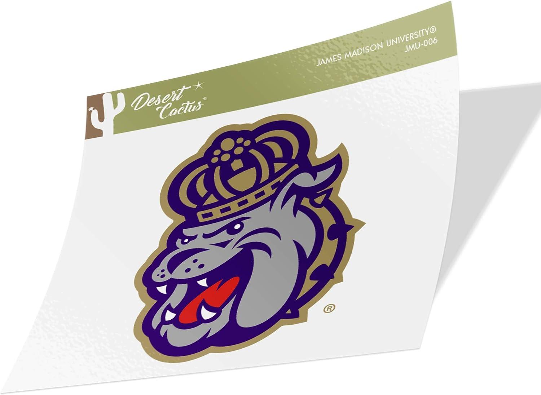 James Madison University JMU Dukes NCAA Vinyl Decal Laptop Water Bottle Car Scrapbook (Sticker - 006)