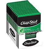ChapStick Classic Spearmint Flavor, Skin Protectant Lip Balm Tube, 0.15 Ounce Each (12CT)