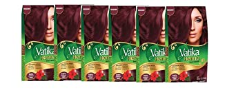 Amazon Com Vatika Henna Burgundy Hair Color Ammonia Free 6