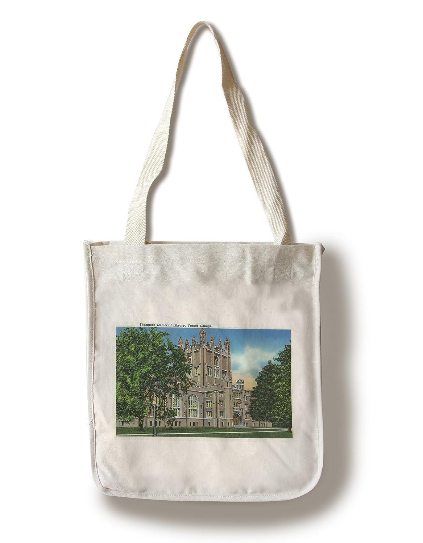 特価ブランド ポキプシー、NY – 外部ビューのトンプソンMemorialライブラリ –、Vassar College Canvas Coffee Bag Tote Bag LANT-18504-TT B074S4PS4P 8oz Coffee Bag 8oz Coffee Bag, 日本の伝統工芸 REALJAPANPROJECT:ae47a212 --- mail.consumer1st.in
