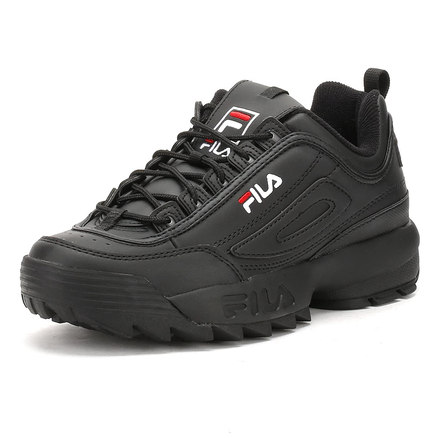 Black Disruptor Low Basket Fila Wmn off 70 101015325y X16xHH