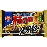 亀田製菓 亀田の柿の種 ごま油香る黒胡椒味 6袋詰 ×12袋