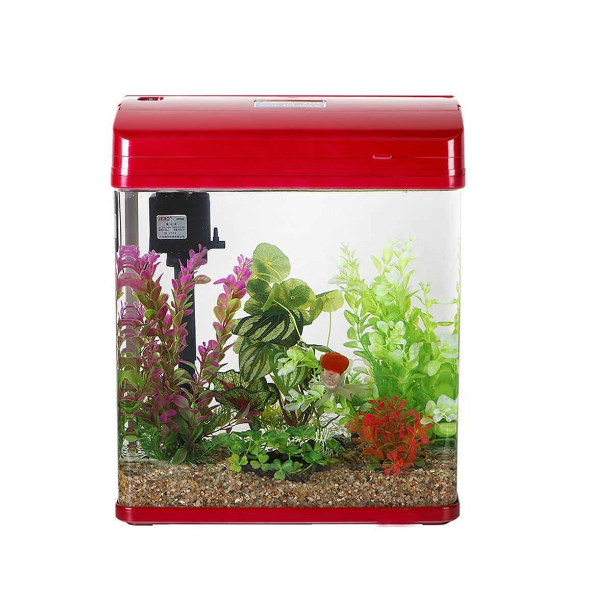 Acuario Planta VORCOOL 10 unidades artificiales acuario peces tanque de agua Planta de pl/ástico decoraci/ón de ornamento colour al azar