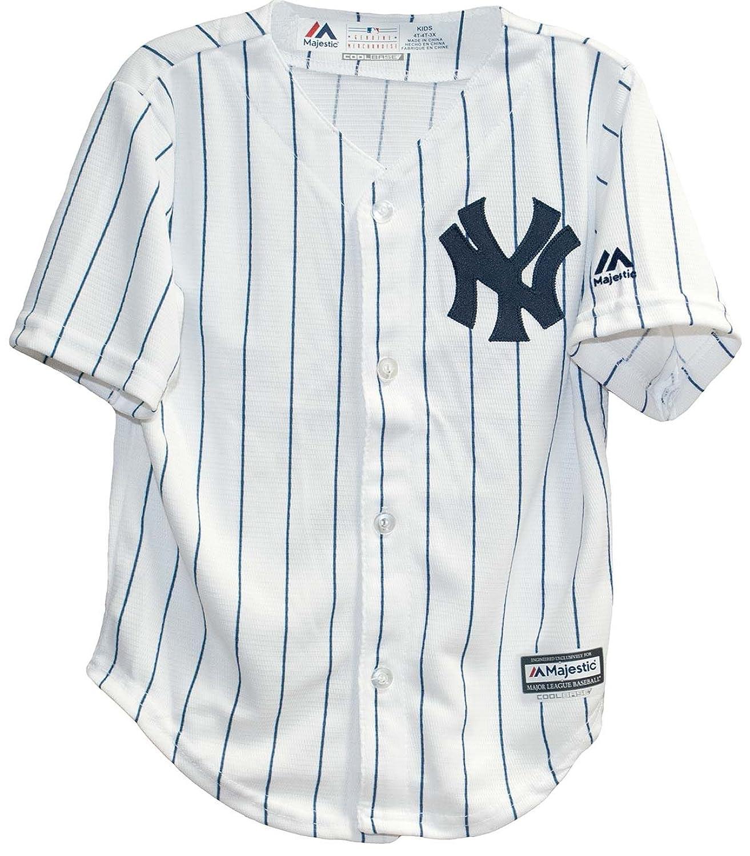 Amazon Majestic Toddler New York Yankees White Navy Blue