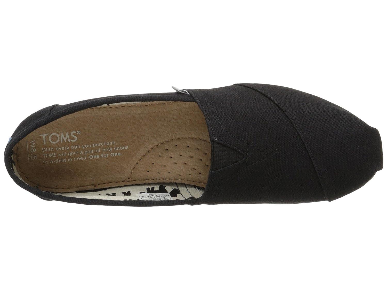 Black & Canvas Women's Classics B01N2HI1A5 Loafers & Black SlipShoesOns a15e44