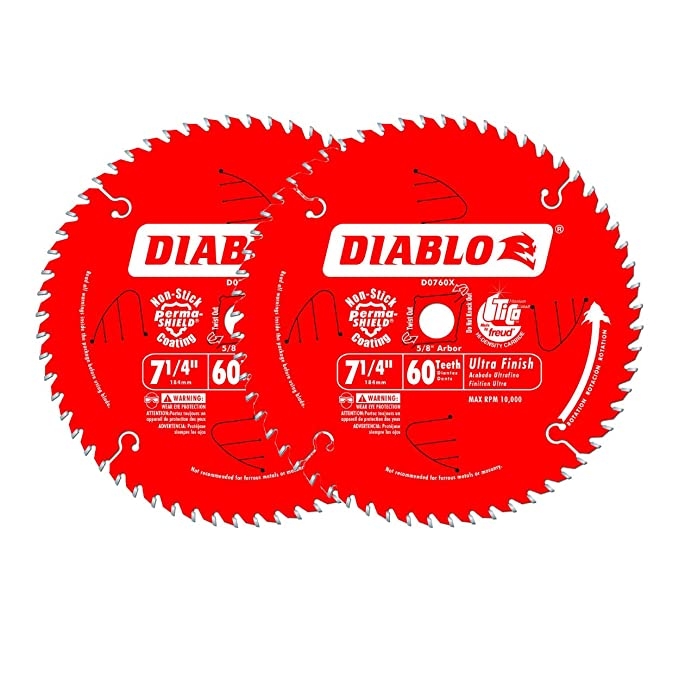 Amazon.com: Freud d0760X Diablo disco de sierra con ...