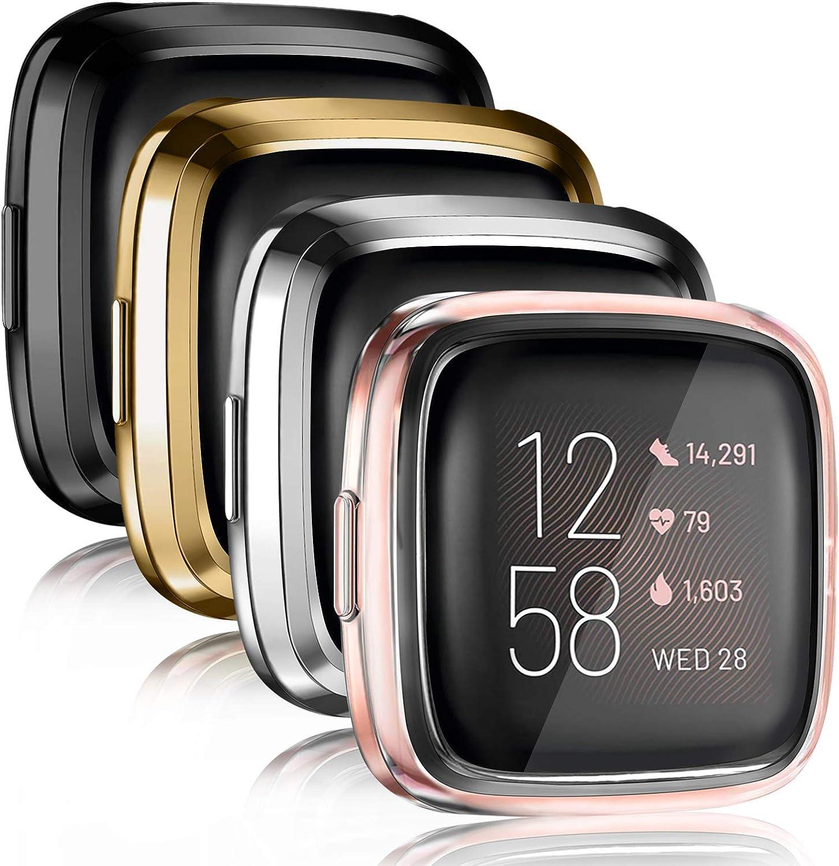 4 fundas protectoras para reloj Fitbit Versa 2