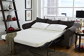 Natureu0027s Sleep 4.5u0026quot; Gel Memory Foam Sofa Sleeper Mattress, ...