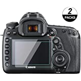KOMET 5d iv Screen Protector Glass Compatible for Canon EOS 5D Mark iv, 5D Mark iii, Touch Screen Tempered Glass Protective Films Cover Protector Accessories (2-Packs)