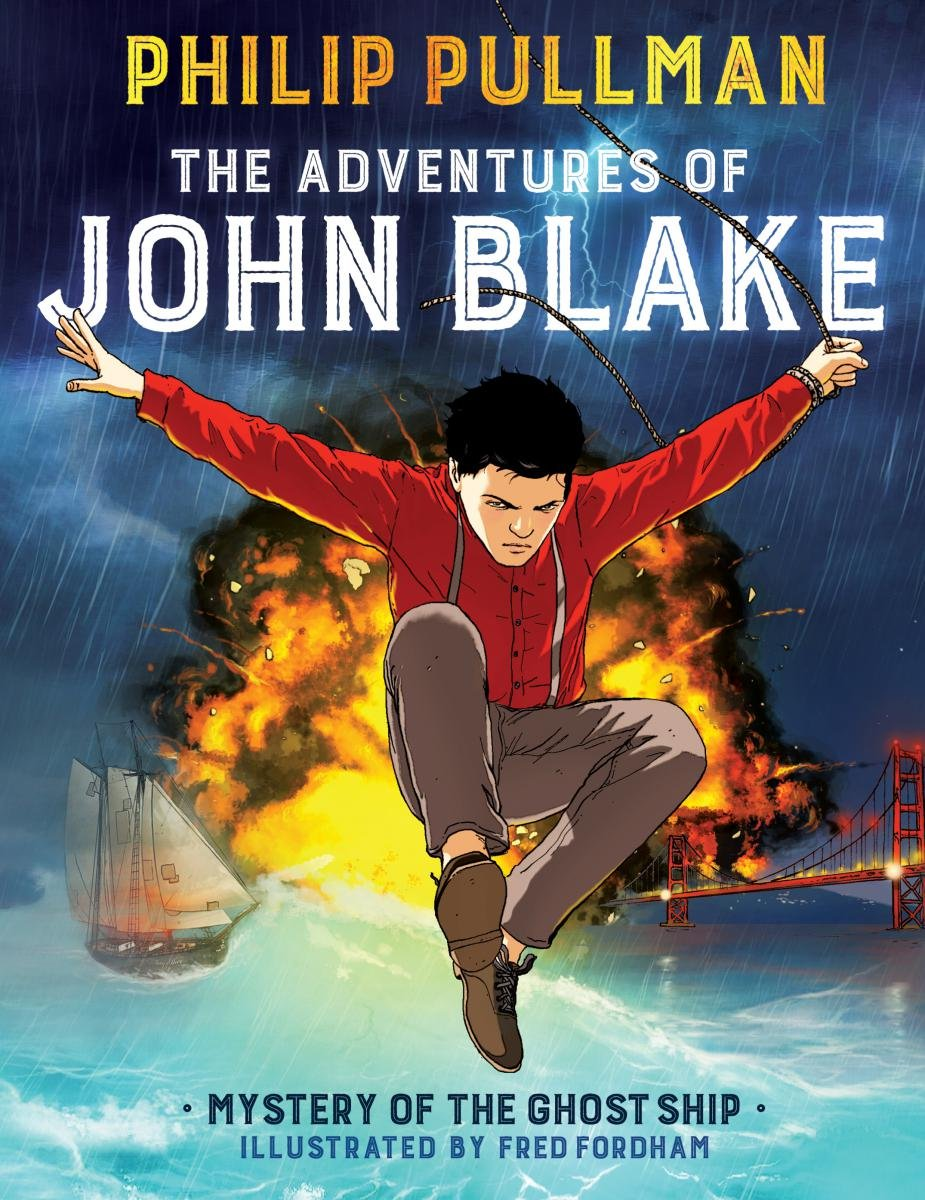 Read Online The Adventures of John Blake: Mystery of the Ghost Ship PDF