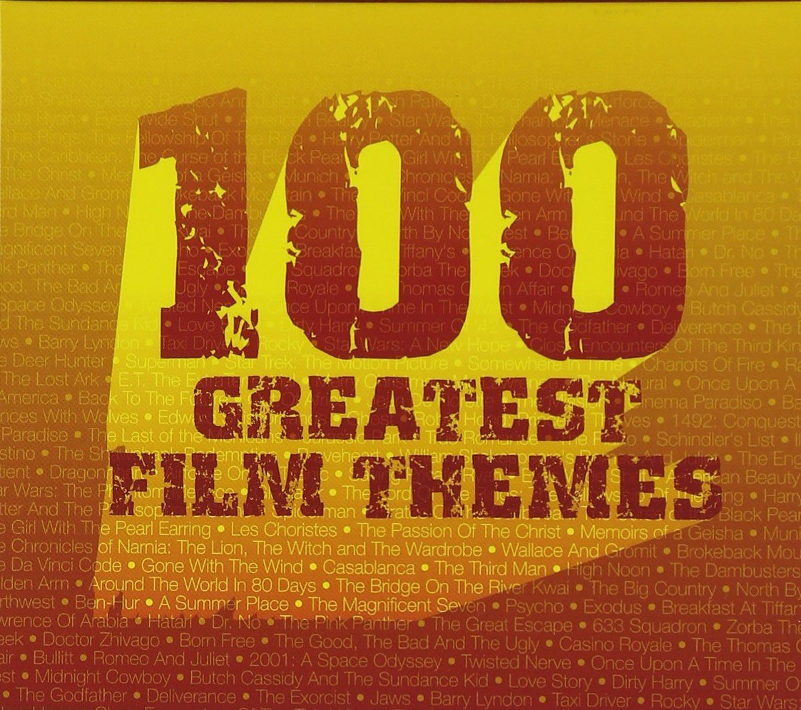 100 Greatest Film Themes (6 CD SET) by SILVA SCREEN MUSIC