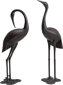 Sunjoy D101009700 Ion Collection Cast Aluminum Crane Set, Bronze