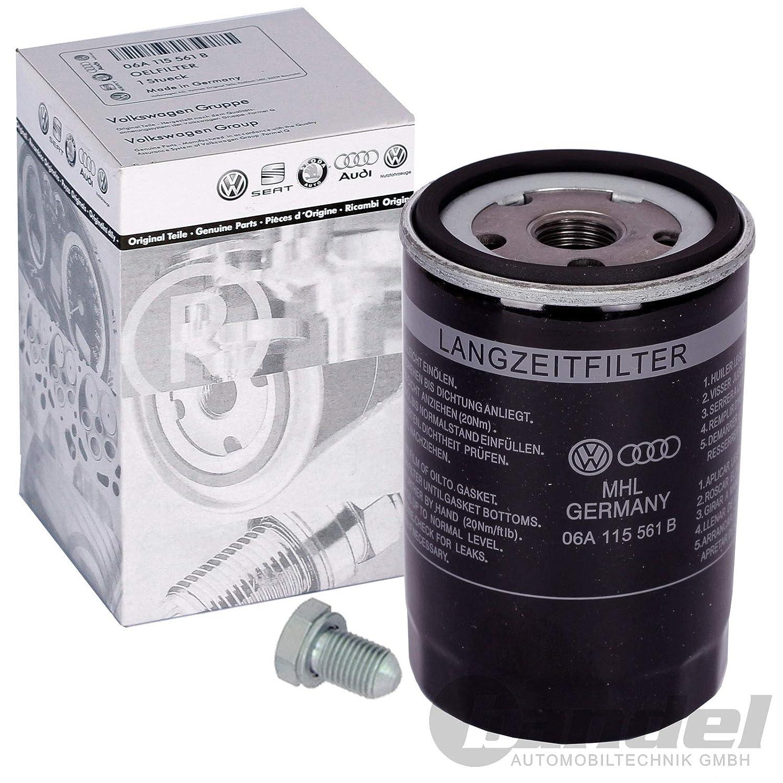 Oelwanne 1Oelfilter 1 Oelwechselanhaenger Innenraumluft Aktivkohlefilter 1 Verschlussschraube Filterset Inspektionskit 1 Luftfilter 1 Kraftstofffilter 1 Filter