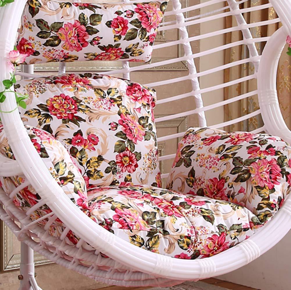 Sedie Colorate Da Giardino.Gww Amaca Uovo Appeso Cuscino Della Sedia Stampa Colorata Swing