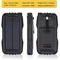 Kojoton 22500mAh Portable Solar Power Bank