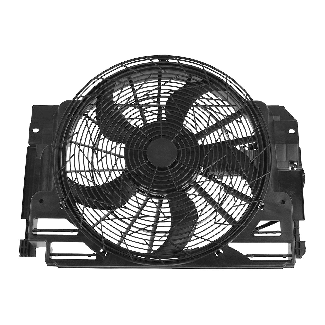 Condenser Radiator Cooling Fan Assembly For 2001-2006 BMW X5 Series BM3020102