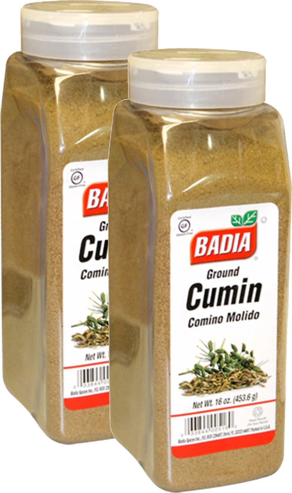 Badia Cumin Seed Ground 16 oz Pack of 2