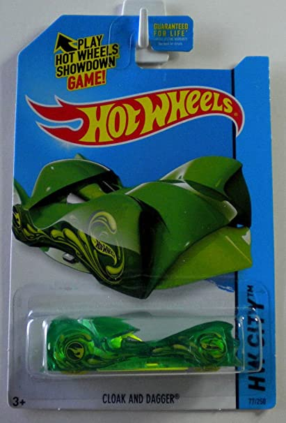 Hot Wheels Treasure Hunt HW City Cloak And Dagger Green #77/250
