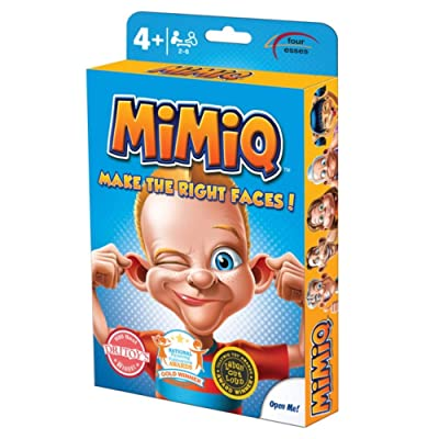 R & R Games MiMiQ Card Game: Toys & Games