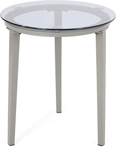 Christopher Knight Home 311225 Sandra Side Table