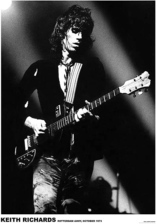 Keith Richards Poster 24x36 inch rolled wall poster